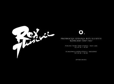 OFFEN MUSIC | REX ILUSIVII LP LAUNCH