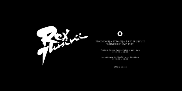 OFFEN MUSIC | REX ILUSIVII LP LAUNCH
